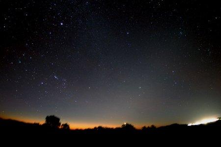 Две кометы в южном небе